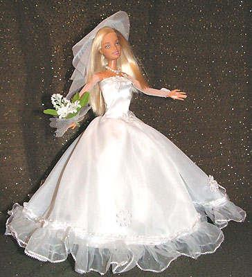Свадебные платья своими руками для кукол