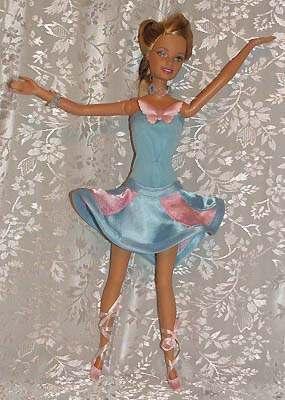 Как сшить платье для балета кукле 68