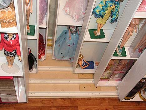 Своими руками кукольный шкаф фото