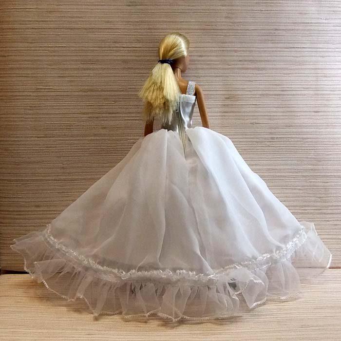Бальное платье для барби своими руками 74