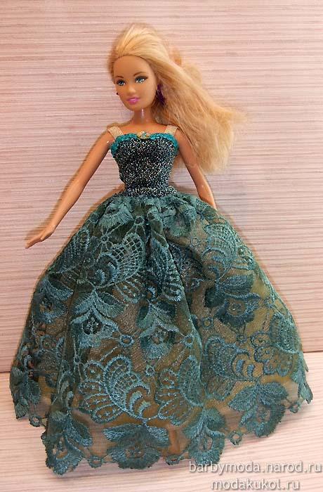 Фото бальные платья для кукол