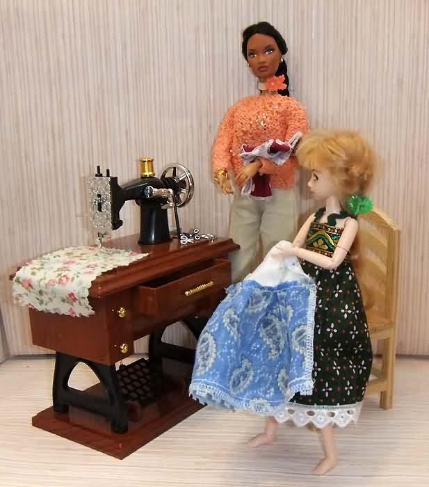 Швейная машинка для кукол своими руками 725