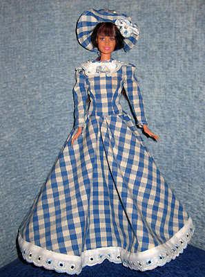 На как сшить платье для куклы барби