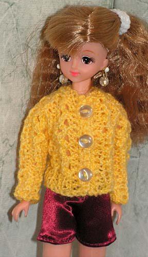 Вязаная одежда для кукол кукол 27 см