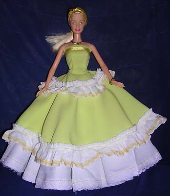 Как сшить платья для куклы барби несколько вариантов