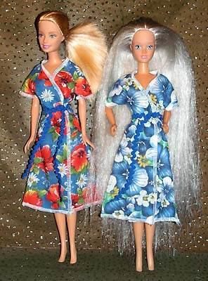 Как сшить пижама для куклы 412