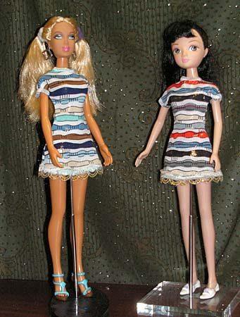 Шикарные платья для куклы барби фото