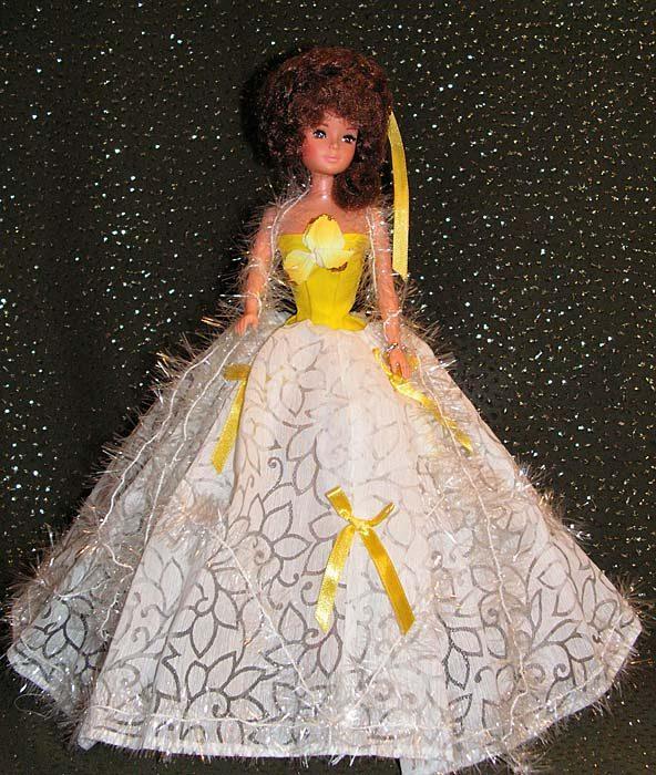 Как сшить пышное платье для кукол барби 473