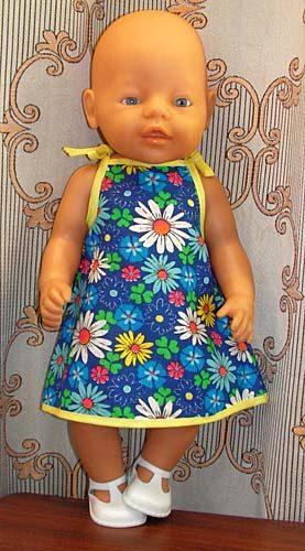 Как сшить платье для беби бона своими руками
