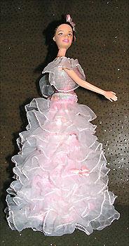 Сшить платье из капрона для девочки 28